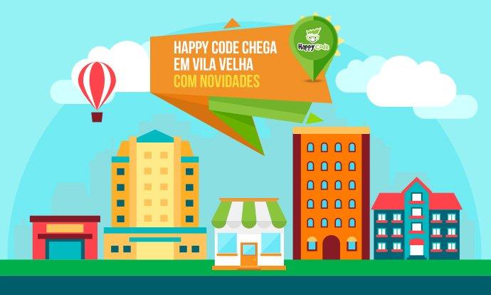 Happy Code chega a Vila Velha com novos cursos de inovação e tecnologia
