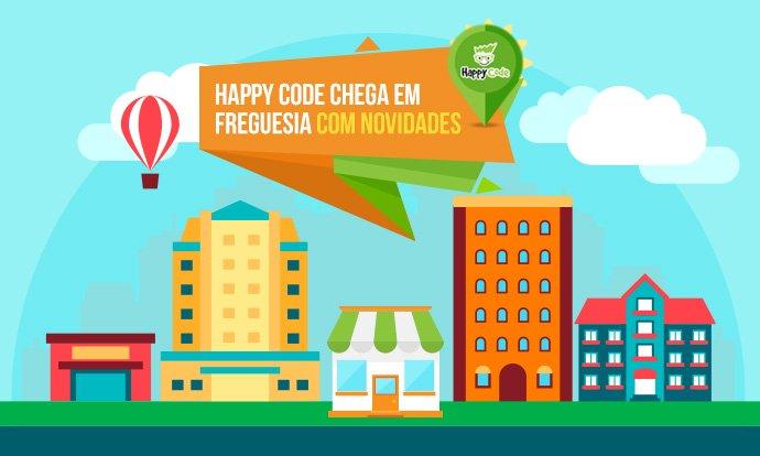 Happy Code chega na Freguesia, no Rio de Janeiro com novos cursos de inovação e tecnologia