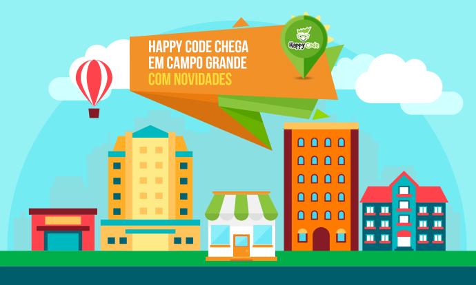 Happy Code inaugura unidade em Campo Grande – MS