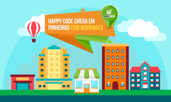 Happy Code inaugura unidade em Pinheiros – SP