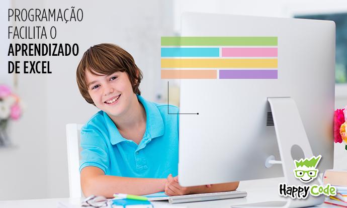 Como a programação ajuda crianças com Excel?