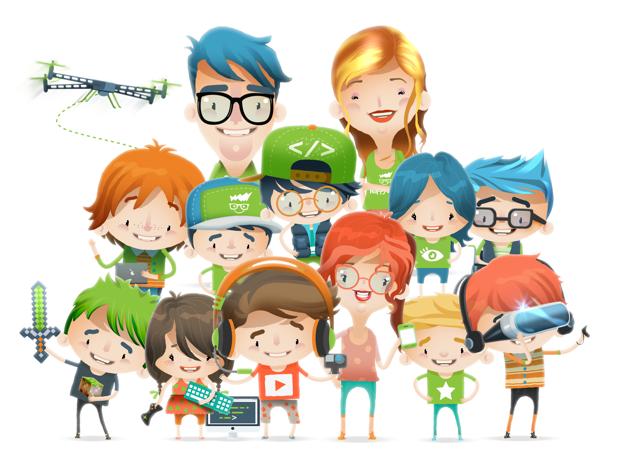 Escola ensina robótica e criação de games e apps para crianças a partir de 6 anos