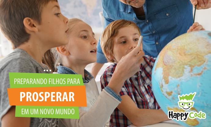 Será mesmo que preparamos nossos filhos para prosperarem em um novo mundo?