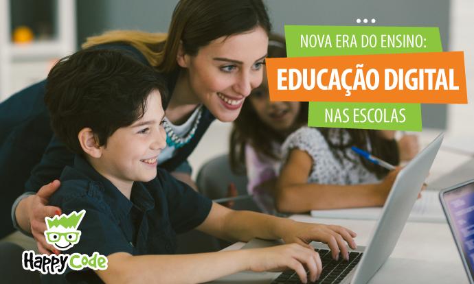 O papel das escolas na educação digital