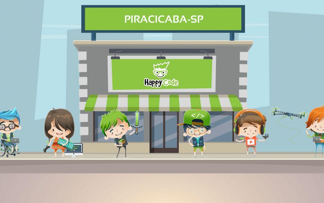 A Happy Code anuncia a inauguração de mais uma unidade, agora na cidade de Piracicaba