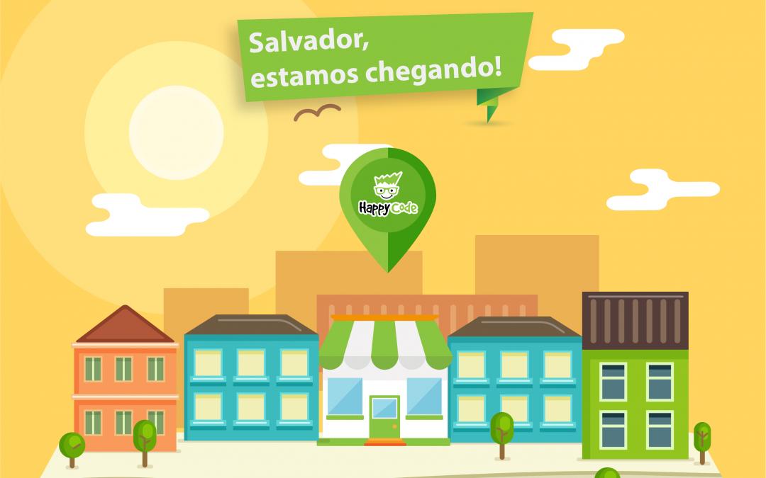 Happy Code anuncia unidade em Salvador – BA