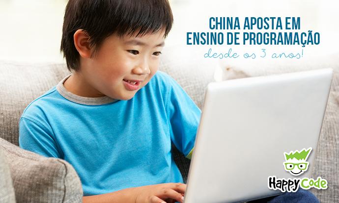 Aulas de programação para crianças é tendência de ensino na China