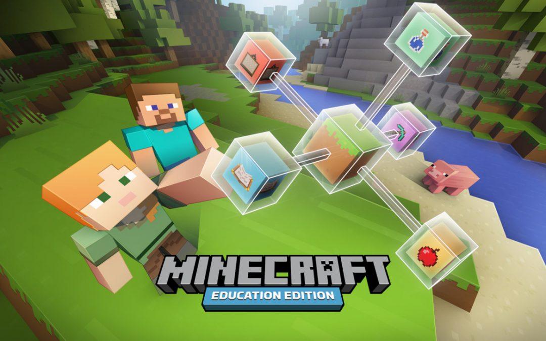 Microsoft lança uma versão gratuita do Minecraft Education Edition