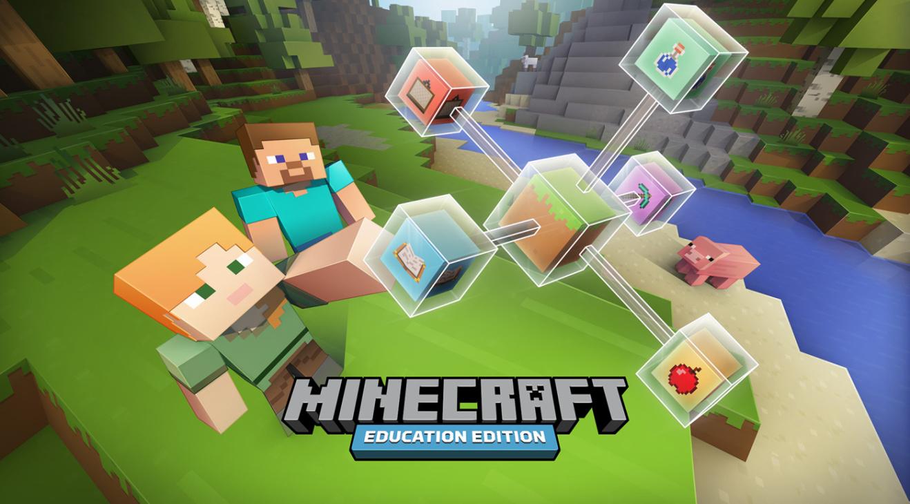 Microsoft lança uma versão gratuita do Minecraft Education