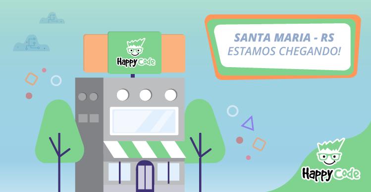 Happy Code continua em expansão e chega em breve a Santa Maria, com os melhores cursos de tecnologia e inovação