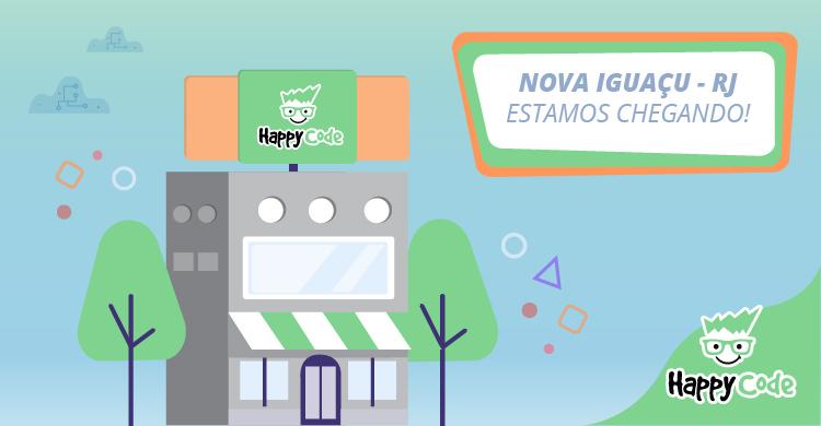 Happy Code continua em expansão e chega em breve a Nova Iguaçu com os melhores cursos de tecnologia e inovação