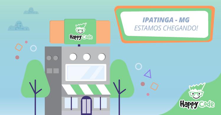 Happy Code chega em breve a Ipatinga/MG com os melhores cursos de tecnologia
