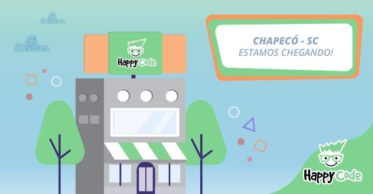 Happy Code chega em breve a Chapecó com os melhores cursos de tecnologia