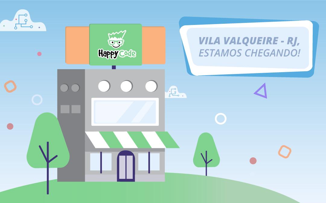 Happy Code chega em breve a Vila Valqueire/RJ com os melhores cursos de tecnologia